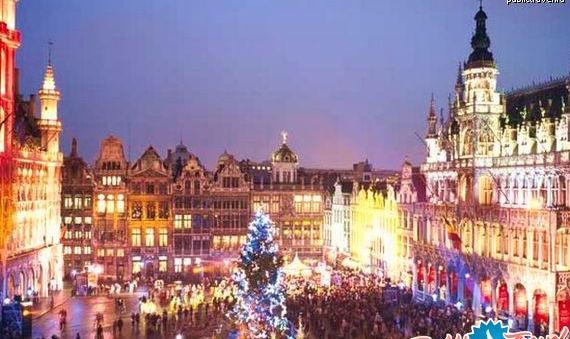 Погода на новый год в брюсселе