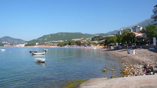 Rafailovici-beach