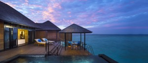 infiniy water villa private infinity pool