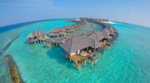 over water villas