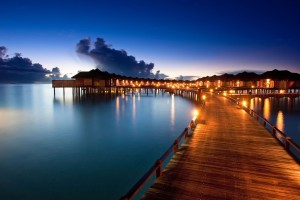 pathway to water villas