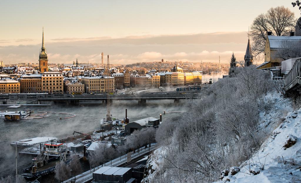 Фотографии поездов зимой впервые его